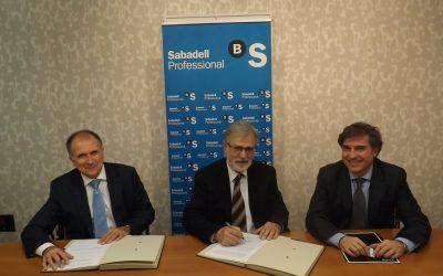 ACUERDO DE COLABORACION CON BANCO SABADELL