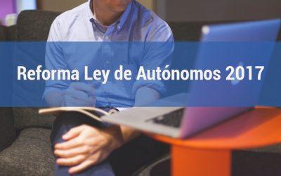 PRINCIPALES NOVEDADES EN LA NUEVA LEY DE AUTONOMOS