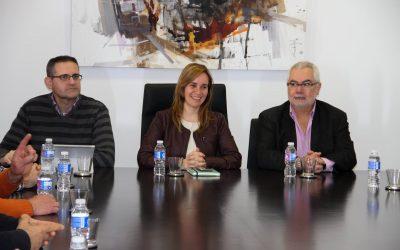RECEPCIÓN DE LA ALCALDESA DE XIXONA A LA NUEVA DIRECTIVA DE ANHCEA.